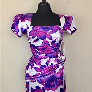 NWT BB Collections Floral Gown